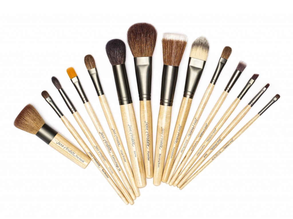 Mineral Makeup - Professional Brush Set graphite